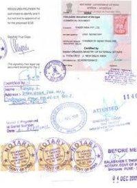Document Attestation Services
