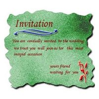Invitation Card Offset Printing Service