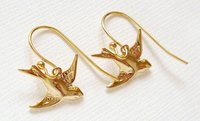 Designer Gold Ear Tops
