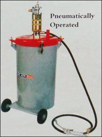 Pneumatically Operated Lubricating Grease Pumps
