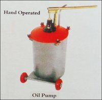 Hand Operated Lubricating Oil Pumps