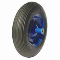 PU Tubeless Solid Tire Wheel for Handtruck