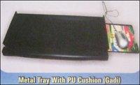 Metal Keyboard Tray With Pu Cushion