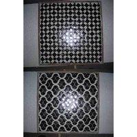Inlay Work Geometric Design Glass