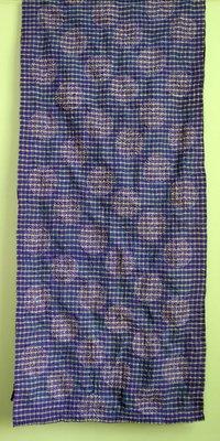 Kantha Stitch Saree Scarves