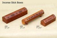 Wooden Incense Sticks Burner Boxes