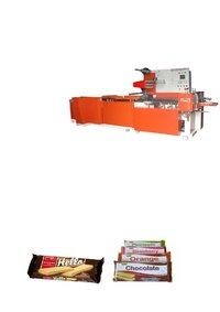 Cream Wafer Biscuits Wrapping Machine