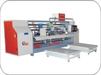 Double Joint Semi Automatic Box Stitching Machine