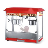 Popcorn Machine With Double Kettle