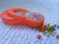 Toy Candy Foot Shape