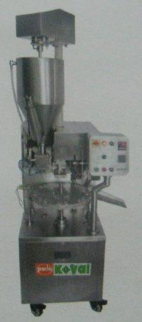 Kv 600al Dh Tube Filling Machine