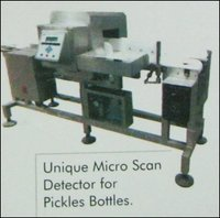 Unique Micro Scan Detector For Pickles Bottles