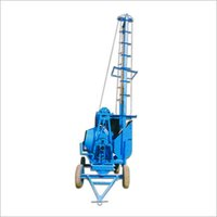 Concrete Mixer Machine With Lift