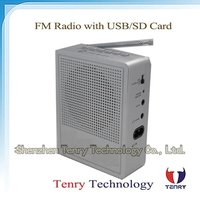 Rechargeable Radio with USB/SD Function