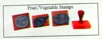 Fruit and Vegetables Rubber Stamps (SS 140)