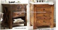 Solid Wood Bathroom Vanity Cabinet