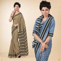 Fancy Print Saree