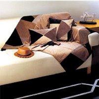 Designer Leather Throws