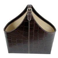 Leather Handle Basket