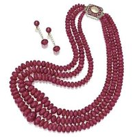 Fashionable Ruby Necklace