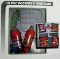 3D PVC Posters & Hangers