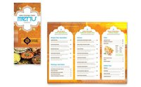 Restaurant Menu Designing Services