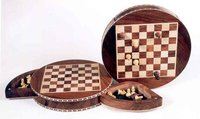 Inlaid Chess Board Game