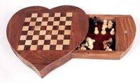 Heart Shape Chess Board
