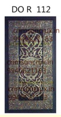 Artificial Wooden Pooja Door