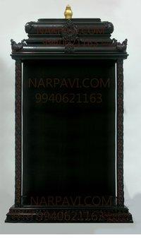 Artificial Wooden Pooja Mandapam