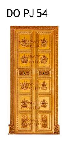 Artistic South Indian Pooja Doors