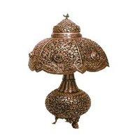 Decorative Silver Lamp