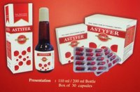 Astyfer Iron, Amino Acids And Vitamins Syrup/ Capsule