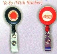 Yo Yo With Sticker