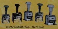 Hand Numbering Machine