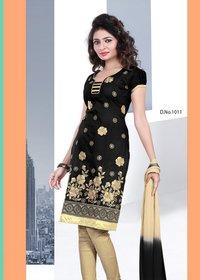 Stylish Design Chanderi Salwar Suit