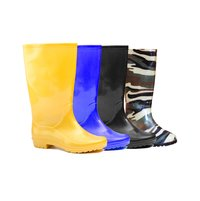 safety color gumboots