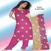 Designer Cotton Ladies Suit