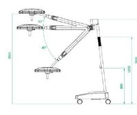 Surgical Light - Mobile Unit (Vida X50/R)