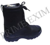 Full Leather Safety Boot With Double Density PU Sole