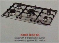 Five Burner Kitchen Hob (K/Hbt 90 5b Ss)