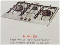 Three Burner Kitchen Hob (N 703 Ss)