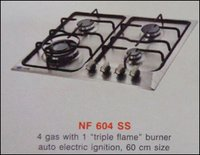 Four Burner Kitchen Hob (Nf 604 Ss)