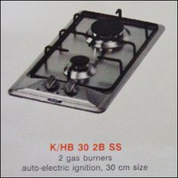 Two Burner Kitchen Hob (K/Hb 30 2b Ss)