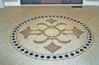 Marble Inlay Flooring Tiles