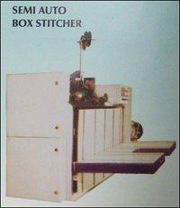 Semi Auto Box Stitcher Machine