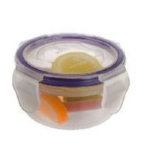 4 Side Lock Plastic Containers - 100ml (1001)