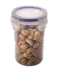 4 Side Lock Plastic Containers - 350 Ml (1003)