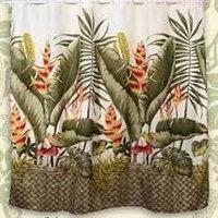 Banana Leaf Curtain