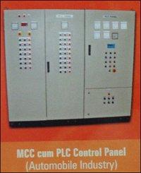 Mcc Cum Plc Control Panel